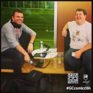 André et Éric @ Montréal Comiccon 2013